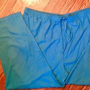 Comfy lightweight washable silk drawstring pants!